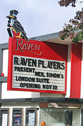 Exterior photograph of Raven Theater